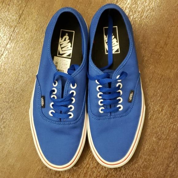 Vans Shoes | Royal Blue Authentic